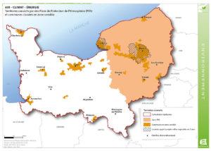 Air - Climat - Energie - Territoires couverts par des Plans de Protection de l'Atmosphère (PPA) et communes classées en zone sensible