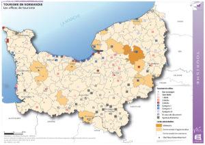 Tourisme en Normandie - Les offices de tourisme