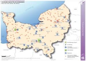Tourisme équestre en Normandie - Sites de visite autour du cheval