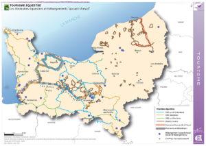 Tourisme équestre - Les itinéraires équestres et hébergements
