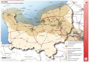 Territoires Axe Seine - Un axe connecté à la façade maritime