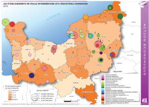 Les établissements de taille intermédiaire (ETI) industriels normands - 2015