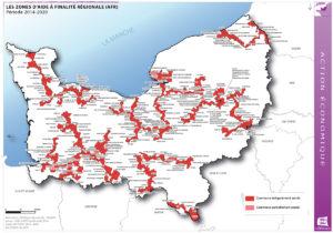 Les zones d'aide à finalité régionale (AFR) - 2014/2020