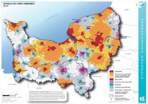 Zonage des aires urbaines - 2010