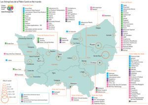 Les Entreprises de la Filière Santé en Normandie