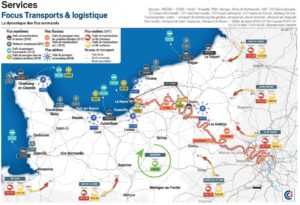 Transports et logistique : la dynamique des flux normands
